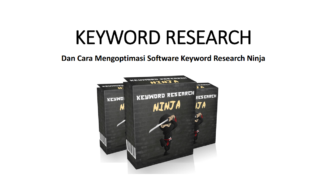 Cara Efektif Meriset Kata Kunci Dan Optimasi Keyword Research Ninja